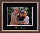 Wooster School in Connecticut Photo Frame - Gold Embossed Photo Frame in Williamsburg