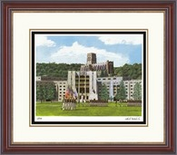 United States Military Academy Diploma Frame - Framed Lithograph in Kensington Gold