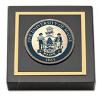 The University of Maine Orono Paperweight - Masterpiece Medallion Paperweight