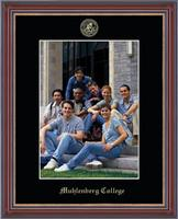 Muhlenberg College Photo Frame - Embossed Photo Frame in Kensit Gold