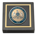 Pennsylvania State University Paperweight - Masterpiece Medallion Paperweight