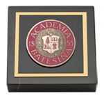 Bates College Paperweight - Masterpiece Medallion Paperweight