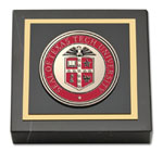 Texas Tech University Paperweight - Masterpiece Medallion Paperweight