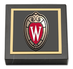 University of Wisconsin Madison Paperweight - Spirit Shield Medallion Paperweight