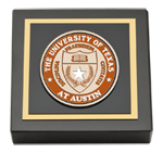 The University of Texas Austin Paperweight - Masterpiece Medallion Paperweight