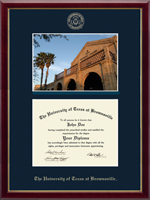 University of Texas at Brownsville Diploma Frame - Campus Scene Diploma Frame in Galleria