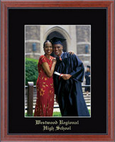Westwood Regional High School Photo Frame - Embossed Photo Frame in Signet