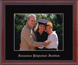 Rensselaer Polytechnic Institute Photo Frame - Embossed Photo Frame in Signet