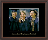 Rensselaer Polytechnic Institute Photo Frame - Embossed Photo Frame in Williamsburg