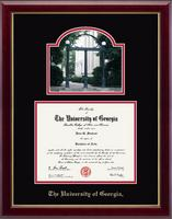 The University of Georgia Diploma Frame - Campus Scene Diploma Frame in Gallery