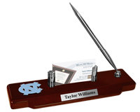 University of North Carolina Chapel Hill Desk Pen Set - Spirit Medallion Desk Pen Set