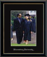 Bloomsburg University Photo Frame - Embossed Photo Frame in Onexa Gold