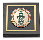 University of Miami Paperweight - Masterpiece Medallion Paperweight