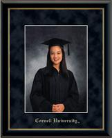 Cornell University Photo Frame - 5'x7'- Gold Embossed Photo Frame in Onexa Gold