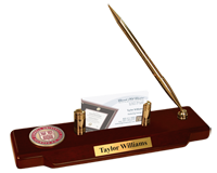 Cornell University Desk Pen Set - Masterpiece Medallion Desk Pen Set