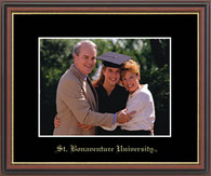 St. Bonaventure University Photo Frame - Embossed Photo Frame in Williamsburg