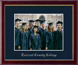 Tarrant County College Photo Frame - Embossed Photo Frame in Galleria