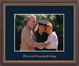 Tarrant County College Photo Frame - Embossed Photo Frame in Williamsburg
