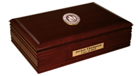 Rhode Island College Desk Box - Masterpiece Medallion Desk Box