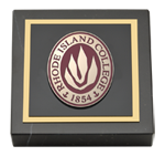 Rhode Island College Paperweight - Masterpiece Medallion Paperweight