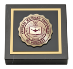 Central Michigan University Paperweight - Masterpiece Medallion Paperweight