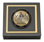 Millersville University of Pennsylvania Paperweight - Masterpiece Medallion Paperweight