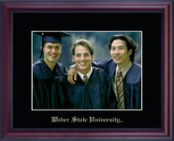 Weber State University Photo Frame - Embossed Photo Frame in Camby