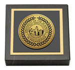 University of the Sciences in Philadelphia Paperweight - Gold Engraved Medallion Paperweight