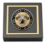 United States Military Academy Paperweight - Masterpiece Medallion Paperweight