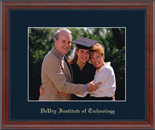 DeVry Institute of Technology Photo Frame - Embossed Photo Frame in Signet