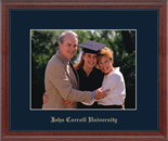 John Carroll University Photo Frame - Embossed Photo Frame in Signet