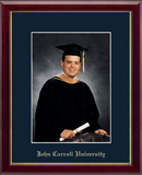 John Carroll University Photo Frame - Embossed Photo Frame in Galleria