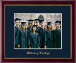 Midway College Photo Frame - Embossed Photo Frame in Galleria