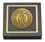 Transylvania University Paperweight - Gold Engraved Medallion Paperweight