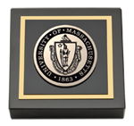 University of Massachusetts Lowell Paperweight - Masterpiece Medallion Paperweight