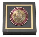 Bloomsburg University Paperweight - Masterpiece Medallion Paperweight