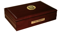 Columbus State University Desk Box - Gold Engraved Medallion Desk Box