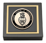 Palmer College of Chiropractic Iowa Paperweight - Masterpiece Medallion Paperweight