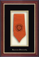 Syracuse University Stole Frame - Commemorative Stole Shadow Box Frame in Newport