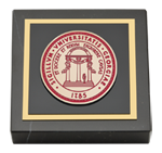 The University of Georgia Paperweight - Masterpiece Medallion Paperweight