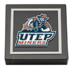University of Texas at El Paso Paperweight - Spirit Medallion Paperweight