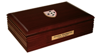 Wesleyan University Desk Box - Masterpiece Medallion Desk Box