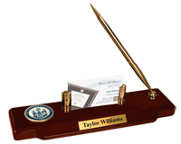 The University of Maine Orono Desk Pen Set - Masterpiece Medallion Desk Pen Set