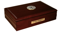 College of the Holy Cross Desk Box - Black Enamel Masterpiece Medallion Desk Box