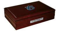 Auburn University Desk Box - Spirit Medallion Desk Box