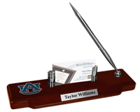 Auburn University Desk Pen Set - Spirit Medallion Desk Pen Set