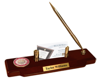 State University of New York Cortland Desk Pen Set - Masterpiece Medallion Desk Pen Set