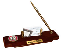 Muhlenberg College Desk Pen Set - Masterpiece Medallion Desk Pen Set