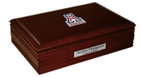 The University of Arizona Desk Box - Spirit Medallion Desk Box