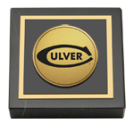 Culver Academies Paperweight - Gold Engraved Medallion Paperweight